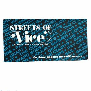 Rare Vintage Streets of Vice Adult Board Game 1980